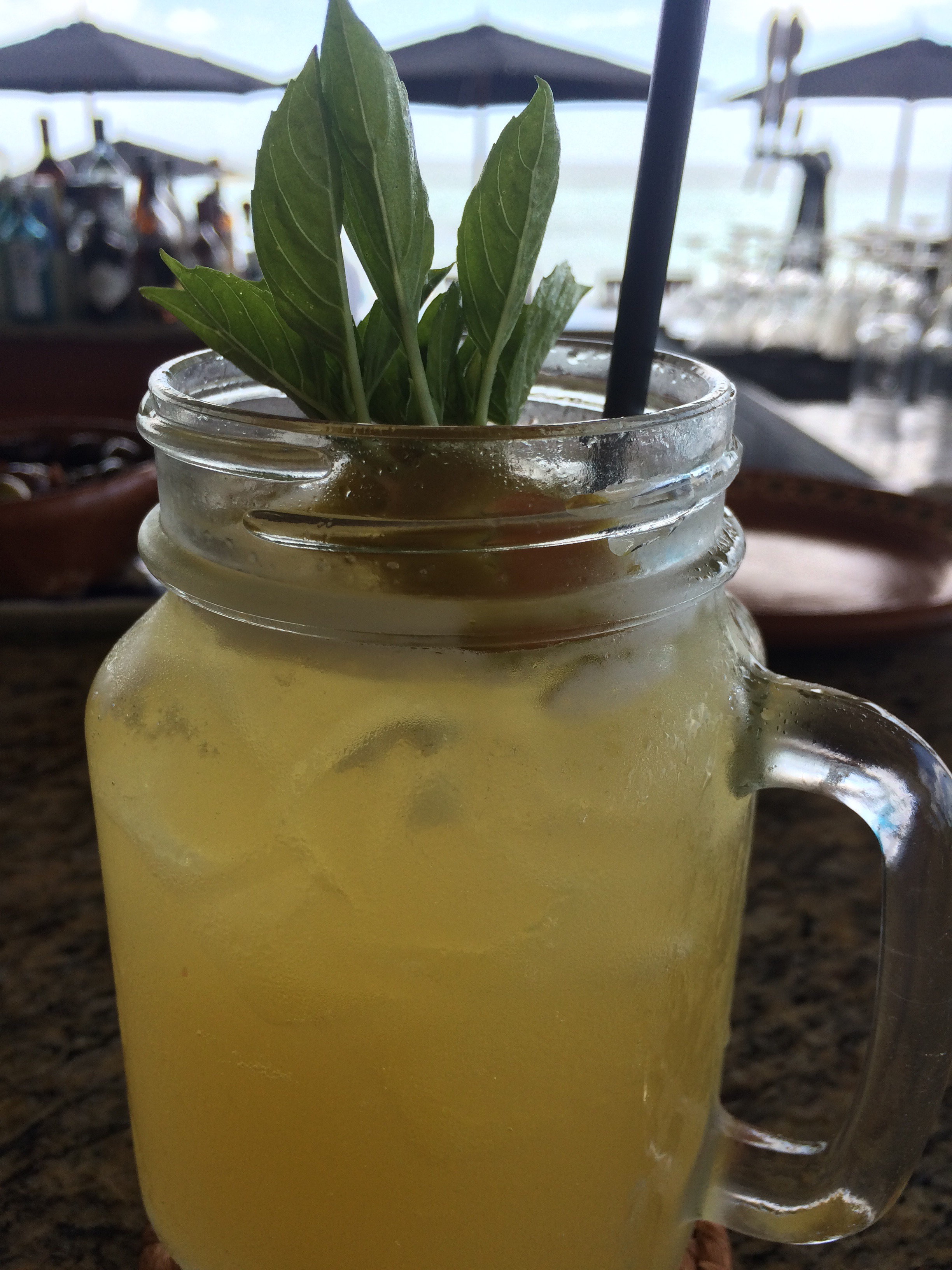 Roasted Pineapple Margarita from Punta Bonita at Rosewood Mayakoba