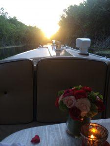 Romantic Boat Ride Dinner at Sunset at Rosewood Mayakoba