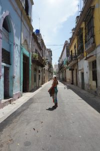 The Glossfox in the streets of Havana, Cuba